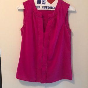 Pink Calvin Klein blouse